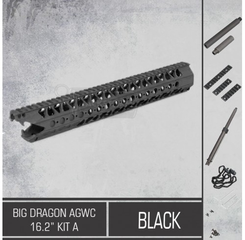 "Big Dragon AGWC 16.2"" Kit A Black"