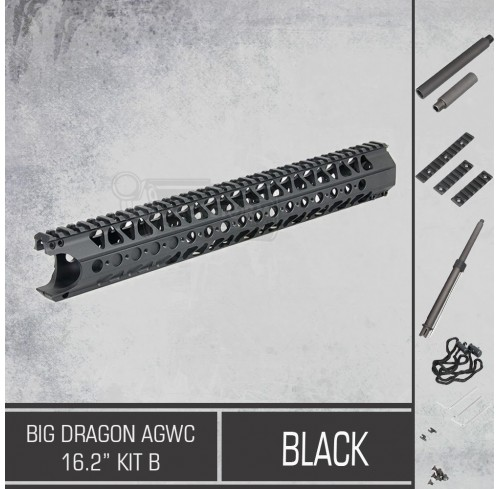 "Big Dragon AGWC 16.2"" Kit B Black"
