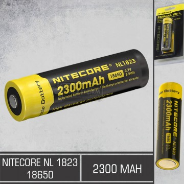 Nitecore Battery NL-1823 18650 (2300mAh)