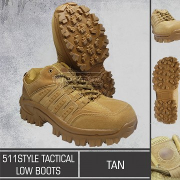 511 Style Low Boots Tan