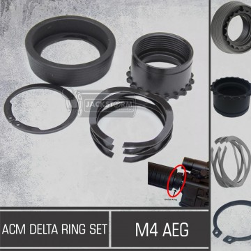 ACM Delta Ring Set for M4 Aeg