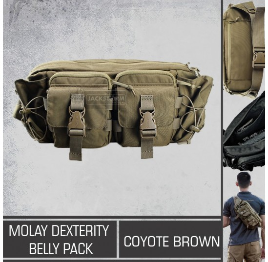 Molay Dexterity Belly Pack Coyote