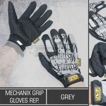 Mechanix Grip Gloves Rep. Grey