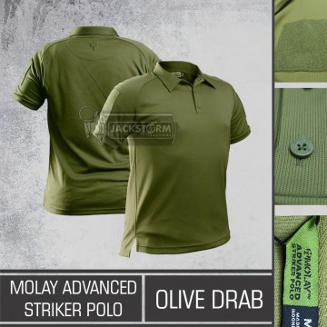 Molay Advanced Striker Polo Shirt OD