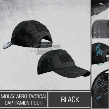 Molay Aero Tactical Cap MK II Pamen Polri