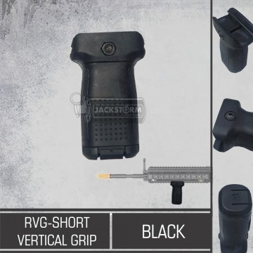RVG - Short Vertical Grip Black