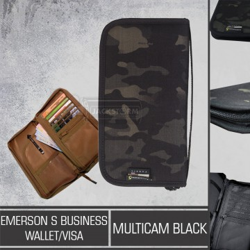 Emerson S Bussiness Wallet/VISA Multicam Black