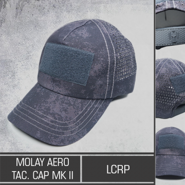 Molay Aero Tactical Cap MK II LCRP