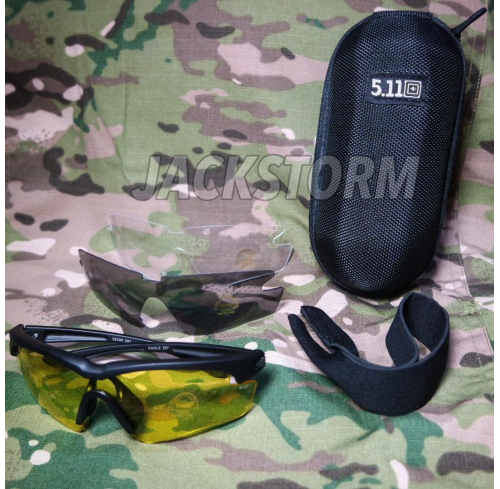 5.11 Tactical Glasses V.1 BK