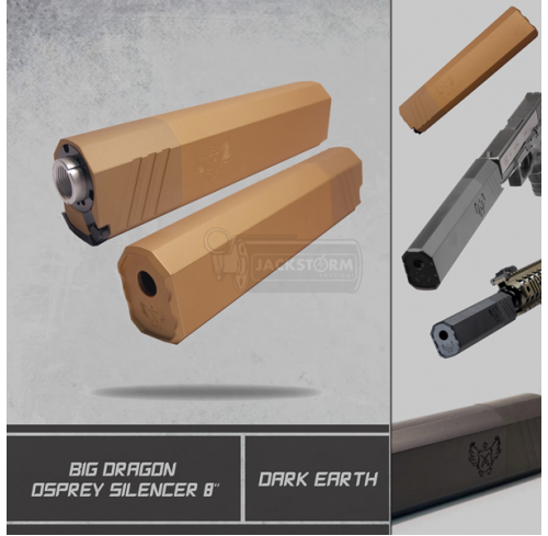Big Dragon Osprey Silencer Dark Earth (DE)