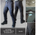 Outdoor Tactical Pants X9 (Quickdry) Black