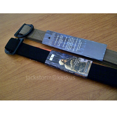 5.11 TDU Belt Black/Tan/OD