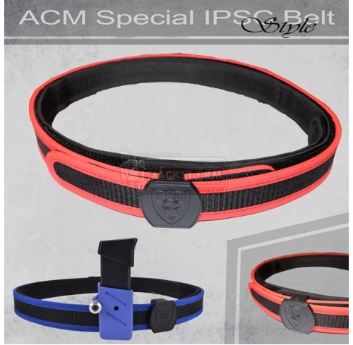 ACM IPSC Special Belt RED