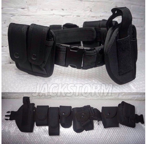 Completed Duty Belt Black