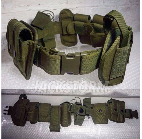 Completed Duty Belt OD